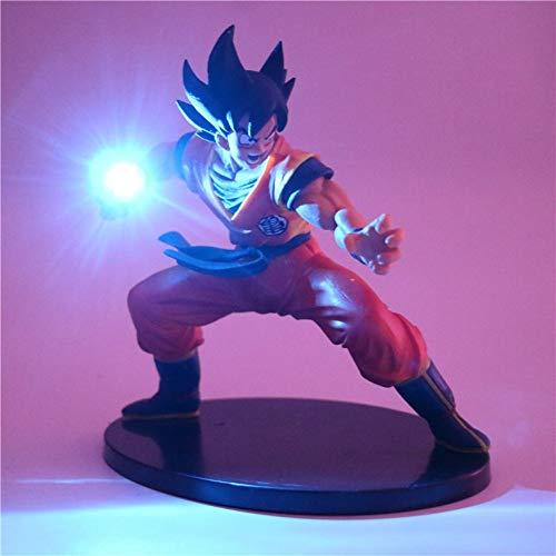 Dragon Ball Z Son Goku Figuras de acción Lámpara Led Modelo de Anime DIY Lámpara de mesa Muñecas Bebé Luz nocturna para niños de juguete Lámparas de decoración, 2