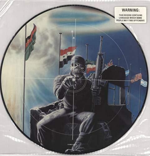 2 Minutes To Midnight - Warning Stickered (Iron Maiden Picture Disc Vinyl)