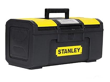 STANLEY 1-79-216 - Caja de herramientas con autocierre, 39.4 x 22 x 16.2