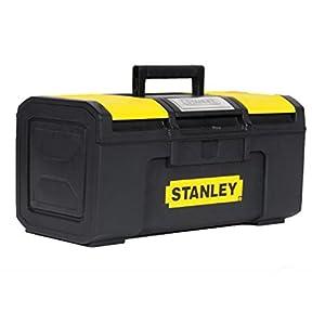 STANLEY 1-79-216 – Caja de herramientas con autocierre, 39.4 x 22 x 16.2