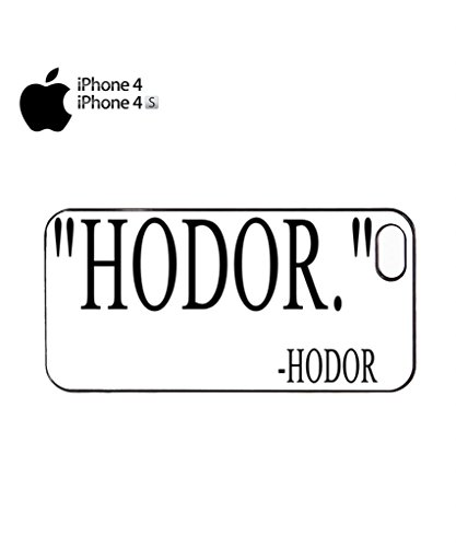 Hodor Quote Mobile Cell Phone Case Cover iPhone 5c Black Noir