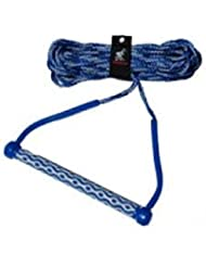 AIRHEAD AHWR-3 Wakeboard Rope, 3 Section with 15 EVA Handle by Kwik Tek