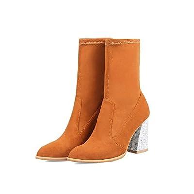 Sandalette-DEDE Einfach Spitze und Schwere Stiefel, High Heel -, Mittel -, Frauen -, Flut - Hochzeit - Stiefel. von Sandalette-DEDE auf Outdoor Shop