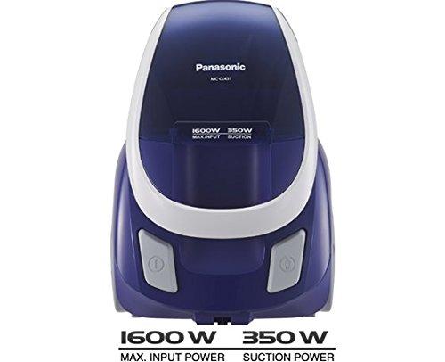 Panasonic Cocolo+ MC-CL431 1600-Watt Bagless Vacuum Cleaner (Blue/Purple)