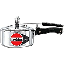 HAWKIN Classic CL15 1.5-Liter New Improved Aluminum Pressure Cooker, Small, ...