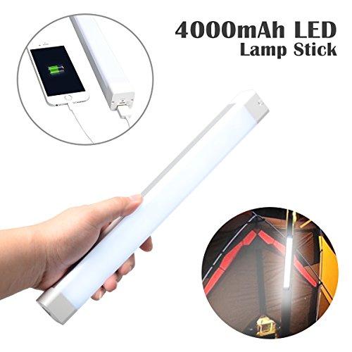 Wiederaufladbare LED Arbeitsleuchte-Corprit Tragbare Taschenlampe mit Magnetische Clip USB Ladekabel für Heim, Auto, Camping, Emergency Kit, Werkstatt