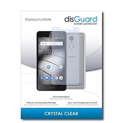 disGuard® Bildschirmschutzfolie [Crystal Clear] kompatibel mit Gigaset GS180 [2 Stück] Kristallklar, Transparent, Unsichtbar, Extrem Kratzfest, Anti-Fingerabdruck - Panzerglas Folie, Schutzfolie
