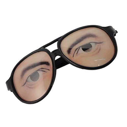Demino Halloween Cosplay Partei DIY Dekorationen Lustige Kostüm-Augen-Glas-Spielzeug Ferien Prop Brillen-Gag-Geschenk