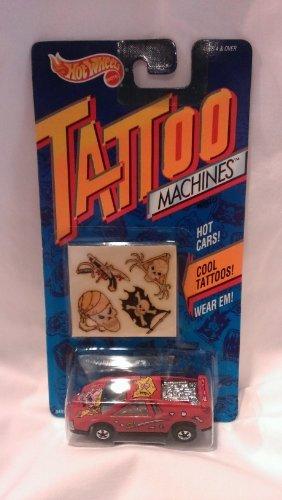 Hot Wheels Tattoo Machines Road Pirate 1992 (Hot Wheels Tattoos)