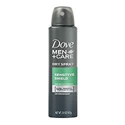 Dove Men+Care Dry Spray Antiperspirant Deodorant, Sensitive Shield 3.8 Ounce by Dove