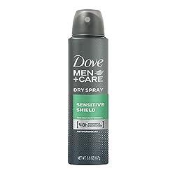 Dove Men+Care Dry Spray Antiperspirant Deodorant, Sensitive Shield 3.8 Ounce by Dove