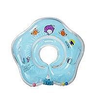 Caratteristica Colore: verde Materiale: PVC Colore: blu-pneumatico Diametro interno: circa 9cm/8,9cm-pneumatico Diametro esterno: circa 39cm/38,9cm-vestito per 1-18mesi di bambino-posizione ideale di nuoto, sicurezza e autonomi...