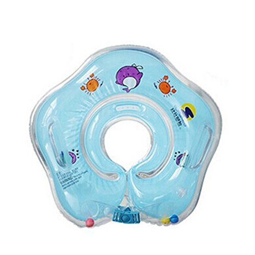 iBanana Baby Kind aufblasbare Schwimmen Kleinkind Sicherheit Hilfe Float Sitz Ring für gefüttert, 3Monate bis Jahre Kinder