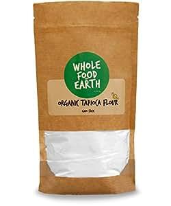Wholefood Earth: Organic Tapioca Flour 1kg | GMO Free