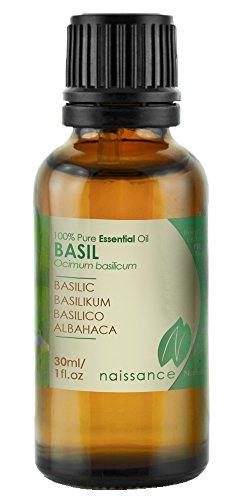 Naissance Olio di Basilico - Olio Essenziale Puro al 100% - 30ml