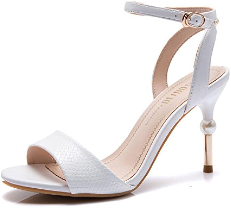 GTYW Womenswear Stilettos High Heels Damen Party Arbeitsschuhe Fine Heel High Heels Sandaletten