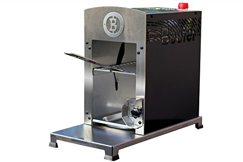 Beefer Gasgrill das Original | Grillgerät von Beefer Grillgeräte | inkl. Grillrost mit passendem Griff, Gastronormschale und Grillhandschuh | Steak-Grill aus hochwertigem Edelstahl | bis zu 800 Grad