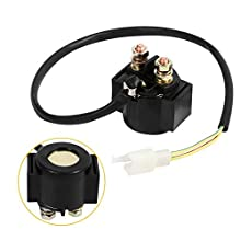 Motorcycle Starter Relay Solenoid ON/OFF Switch for 50cc 125cc 150cc 250cc Scooter ATV Dirt Bikes Go Kart
