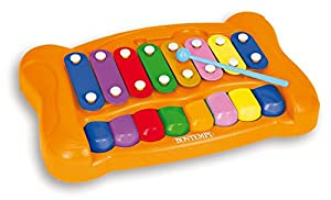 Bontempi-55 Baby xilófono, Multicolor (Spanish Business Option Tradding 55 0725)