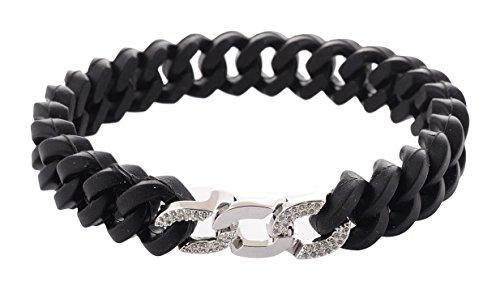 925 Silver Jain Navkar Maha Mantra Bracelet Kada For Men 22grams