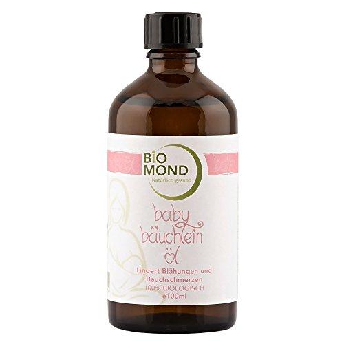 BIO Babyöl Bäuchlein Öl Oil BIOMOND / 100 ml / ohne Zusatzstoffe / 100% BIO / Naturkosmetik / bei Blähungen / von Hebammen empfohlen -