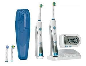 Braun Oral-B Triumph 5000 Elektrische Premium-Zahnbürste mit SmartGuide und zweiter Zahnbürste (limitierte Edition)