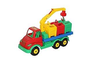 Polesie Polesie44082 Multitruck - Camión de Basura de Juguete