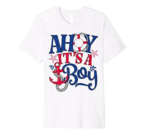 Ahoy IT 'S A BOY–Geschlecht lassen oder Baby Ankündigung Shirt