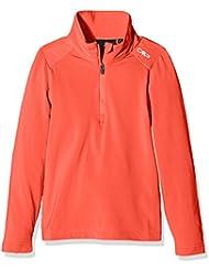 CMP Joven Función Camiseta de esquí, niño, Funktionsshirt Ski, Aranciata, 128