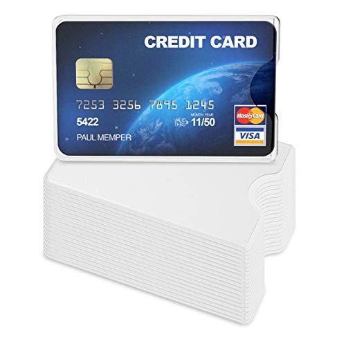 Kwmobile 20x Funda Protectora Tarjeta crédito débito