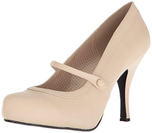 Pleaser Pinup-01 Plateau - Zapatos de tacón para Mujer (Piel...