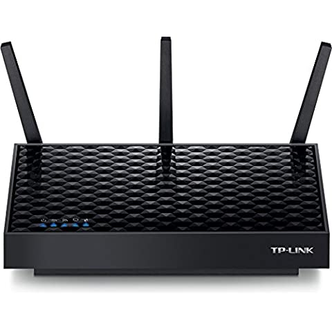 TP-LINK AP500 - Punto de acceso inalámbrico Gigabit AC1900 de banda dual (CPU de doble núcleo a 1 GHz,Beamforming, 1 LAN Gigabit, AP/Cliente/Puente/Repetidor, Multi-SSID, 3 antenas desmontables)