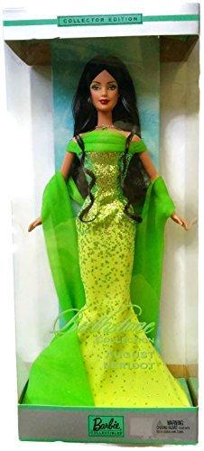 Mattel Barbie 2002 Birthstone Collection - August Peridot Barbie Doll -