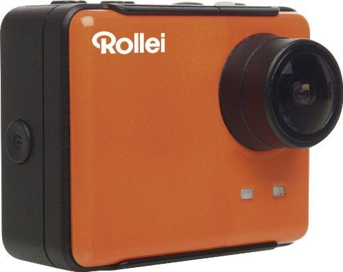 Rollei S-50 WiFi Standard Edition Aktion-Camcorder (14 Megapixel, Full HD Video-Auflösung, 1080p) gelb/blau/schwarz (S50 Camcorder)