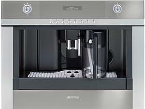 Smeg CMSC451 Einbau Kaffeevollautomat Edelstahl Milchaufschäumer Cappuccino 45cm