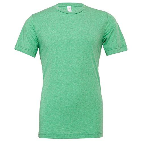 Bella Canvas Herren Modern T-Shirt Green Triblend