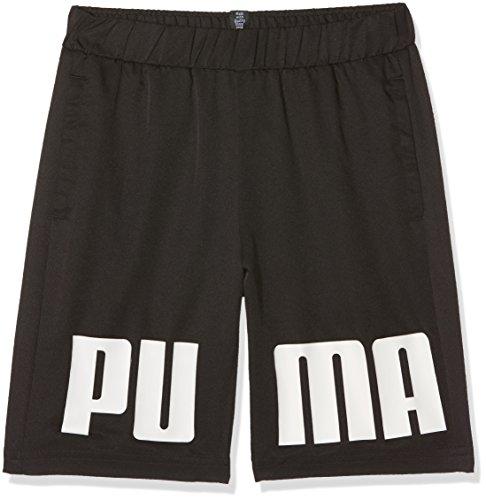 Puma rebel woven, pantaloncino unisex bambini, nero, xl
