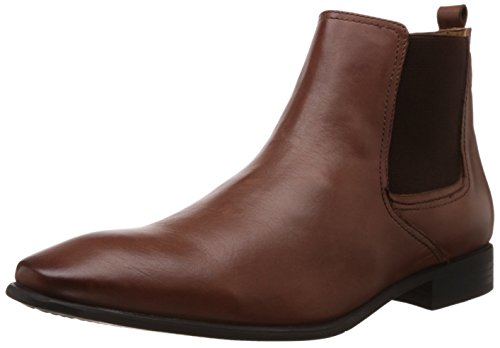 Hush Puppies Men's New Fred Chelsea Tan Leather Boots - 9 UK/India (43 EU)(8043966)