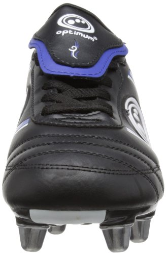 Optimum Tribal - Chaussures de Rugby - Homme Noir (Black/Blue)
