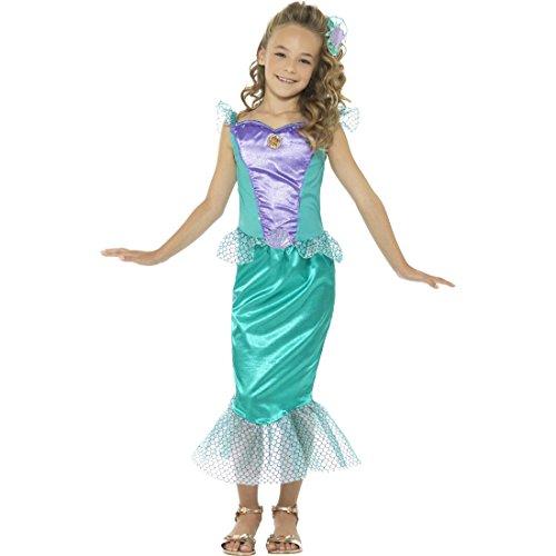 Nymphe Kostüm Kinder - Amakando Arielle Kinderkostüm Nixe - S,