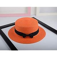 SEBAS Home Estate Versione Coreana del Cappello Cappello Piccolo Cappello  da Sole Femminile Cappello Paglia Paglia 28aaabdae649