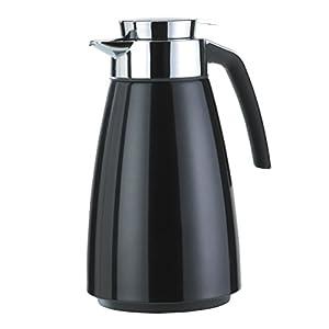 Emsa 513815 Bell Quick-Tip vacuum flask, 1.5 litres, black