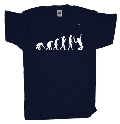 Ma2ca - Evolution - Tennis T-Shirt Navy