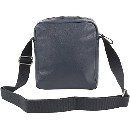 Strellson uomo Paddington ShoulderBag SV borsa a tracolla, verde (dark green*), Taglia unica Grey (Grau)