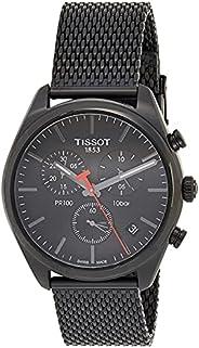 Tissot Chronograph Silver Strap Men's Wrist Watches - T101.417.33.05