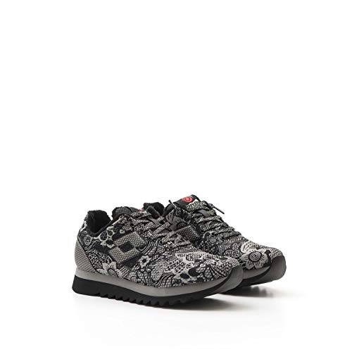 Lotto Leggenda - Osaka Black Flower - Osaka WS5827 Blk/Flower - 37