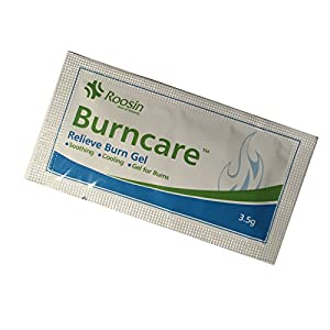 50 BURNCARE EMERGENCY FIRST AID BURN CARE SCALDS COOLING SOOTHING GEL SACHETS…