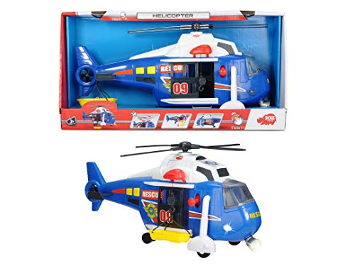 Dickie Toys 203308356 – Action Series Helicopter, Helikopter, 41 cm - 5