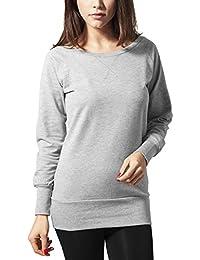 Urban Classics Ladies Wideneck Crewneck, Sweat-Shirt Femme