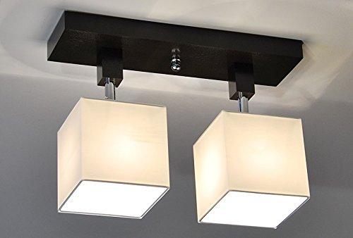 Plafoniere Per Tetto In Legno : Plafoniera illuminazione a soffitto in legno massiccio lls211dpr
